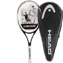 Genuine Head TI series tennis high quality tennis racket for men women training rackets Raquete De Tenis with cover(China)