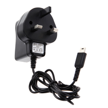 H3#R Universal AC Adapter UK Standard Travel Charger for Nintendo DS Lite for NDSL with Mini 5pin B Type USB Charging