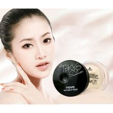 New 4 Colors Smooth Loose Powder Makeup Transparent Finishing Powder Waterproof Cosmetic For Face WD2