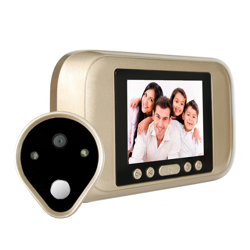 3.2 Inch HD Peephole Viewer Video Door Bell <br>