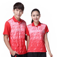 Quick dry badminton shirt Men/Women ,Badminton t shirt female/male , Table tennis shirt , sports Tennis shirt 3059AB(China)