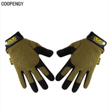 Comercio al por mayor 2016 Hot New Navy SEALs Tactical guantes Mechanix moda ocio paseo salvaje de la motocicleta moto Marca Mil