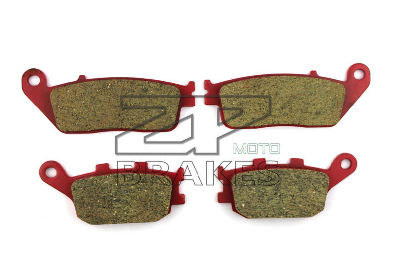 Brake Pads Ceramic For HONDA VTX 1300 S Retro /C/ R/T 2003-2013 Front Rear OEM New High Quality ZPMOTO<br>