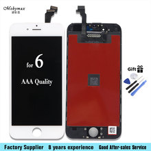 For Iphone 4 4S 5 5C 5S 6 6 plus 6S 7 LCD Display Touch Screen Front Glass Digitizer Glass assembly with Free Toolkit