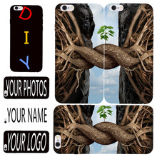 Customized Case For Samsung Galaxy A3 A5 A7 A8 J1 J2 J5 J7 2016 E5 S2 Hard PC Back Coque DIY OEM Logo/Photo Printed Name Pattern