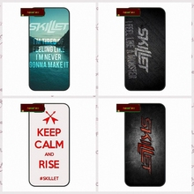 John Cooper Skillet Rock Print Cover case for font b iphone b font 4 4s 5