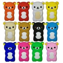 3D Cute Soft Silicone Case Cover For Apple iPod Nano 7 7G 7th Gen Back Cases Covers