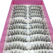 10 Pairs Black Natural Long False Eyelashes High Quality Handmade Extensions Thick Lashes cheap Makeup Tools Cosmetic