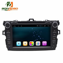 Android 6.0 Ram1G 16GB Car Video DVD Player For Corolla2008-2011 Quad Core 1024*600 Radio GPS Navigation bluetooth Screen Wifi