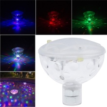 AAA Battery Powered LED Underwater Fountain Light Bathtub Light Disco Spa Swimming Pool Float lamp Pond Fish Tank Aquarium Light(China)