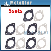 5x Carburetor Manifold Intake Inlet Pipe Spacer Seal 30mm Gasket For Pit Dirt Bike Motorcycle 150cc 160cc 250cc Engine(China)