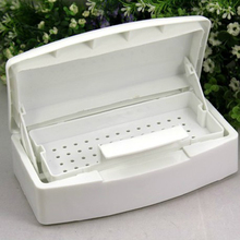 Salon Nail Art Sterilizer Tray Box Sterilizing Case Pro Nail Art Esterelizador Salao De Beleza Beauty Nail Manicure Tools