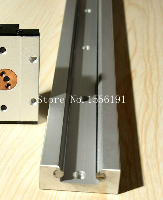 SGR15*1000mmDouble axis roller linear guideCan be 0.2~6MHigh-speed linear  guideExternal Dual-axis bearing without slide block<br>