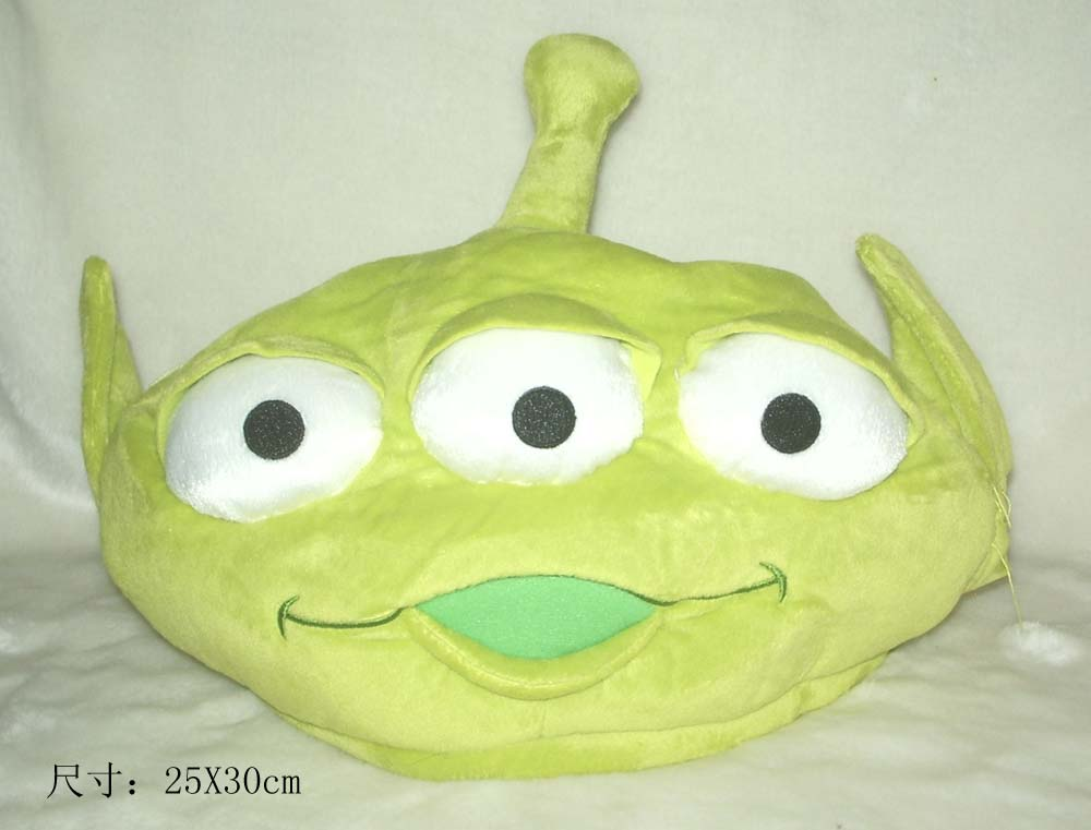 Original Rare Toy Story Alien Cute Plush Hat Cap Birthday Gift Children Gift Free Shipping<br><br>Aliexpress