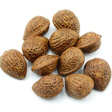 Cheap 10pcs artificial simulation fruit almond wedding decorations home christmas gifts cognition toys DIY props accessories(China)