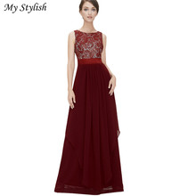 New Fashion Sexy Dress Women Long Maxi Cocktail Party Ball Prom Gown Formal Dress Women Clothing Plus Size Top Quality Jan 16