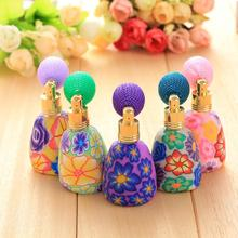 12ml Fashion Perfume Bottle Atomizer Empty Refillable Scent Devider Vintage Spray Colorful Random Hot Drop Shipping