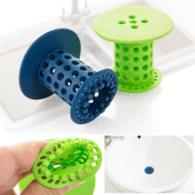 Silicone Bathroom Sink Drain Strainer Sink Plug Strainer Shower Floor Drain Kitchen Sink Filter Bathtub Drain