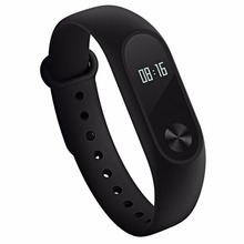 Original Xiaomi Mi Band 2 Bluetooth 4.0 IP67 Waterproof Dustproof Smart Bracelet OLED Display Screen Circular Touch Button - eForChina store