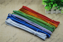 Free Shipping 5pcs/lot 3.5meters/pcs 8mm Multi colour Stretch Elastic Beading Cord / String / Thread / Diy Accessories DS324-b