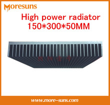 Free Ship by EMS/DHL High power radiator 150*300*50MM High quality pure aluminum radiator Super cool aluminum blocks(China)