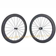 OEM Custom Brand Wheels Carbon Road Bicycle Wheelset 50mm Depth 700C Novatec Powerway Hub 18 Size Brand Paint Logo Can Be Choose(China)