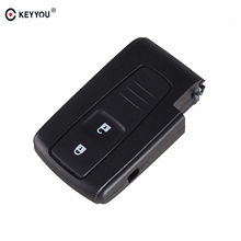 KEYYOU 2 BUTTON REMOTE KEY CASE FOR TOYOTA PRIUS COROLLA VERSO(China)