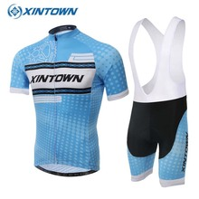 Wave Point Blue Cycling Jersey Short Sleeve MTB Bike Clothing Maillot Cycling Wear Racing Bicycle Clothes Cycling Clothing(China)