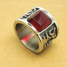 Cool Big Crystal Rings For Men Unique Great Bright Mantra Six Words Men Ring  Om mani peme hum  DLQ