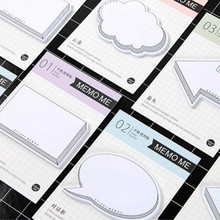 40 Pcs/Lot Creative Hand Account Self-Adhesive Leave Message Memo Pad Post It Sticky Notes Bookmark Office Stationery Supply7098(China)