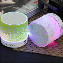 Wireless Bluethooth Mini Speaker A9 LED lights Stereo Portable Audio Player Handsfree Speakers Support USB Micro SD TF Card