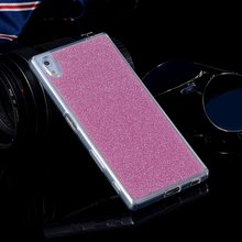 Shiny Silicone Glitter Cases For Sony Xperia Z3/Z3 Compact D5803 D5833/Z5/Z5 Compact Soft TPU Cover Colorful Foil Cell Phone Bag
