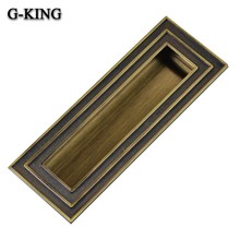 The concept of Qi promotional concealed handle cabinet door handle door selling classical fashion style drawer handle 003(China)
