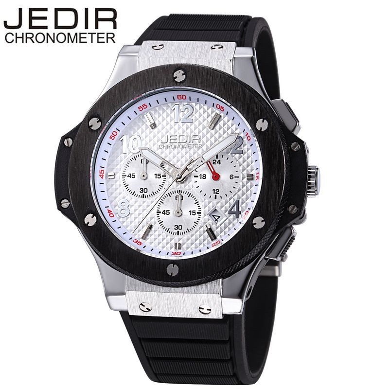 JEDIR Casual Mens Mult-function Sport Watch Silicone Watch Top Brand Military Watch Relogio Masculino Gift Box Free Ship<br><br>Aliexpress