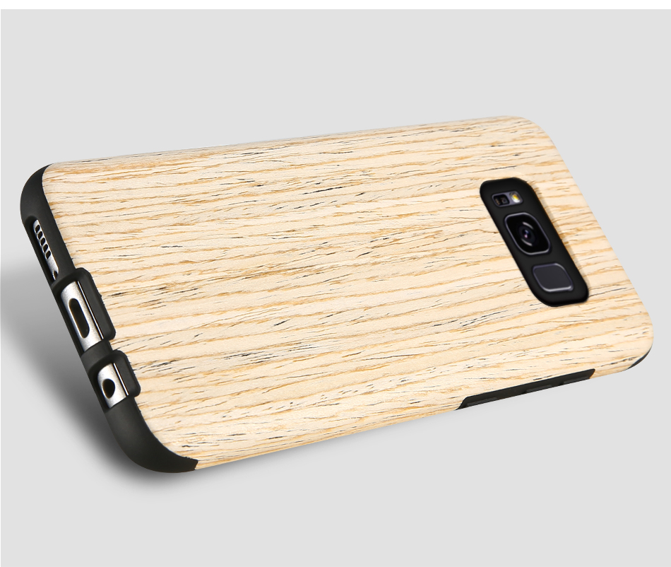 wood pattern soft tpu case for samsung s8 s8 plus (19)