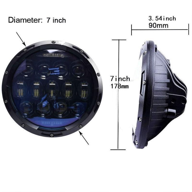 130W 7inch LED Headlight80022