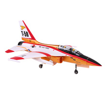 Original RC Airplane PNP T-50 Drone 820mm Wingspan 70mm EDF Jet Trainer EPO Aircraft Version and Retractable Landing Gear