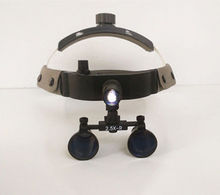 NEW 3W Dental Surgery Headlight Headlamp W/ 2.5X Medical Magnifier(China)