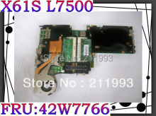 Original Mainboard for X61s Laptop Motherboard P/N: 42W7766 L7500 CPU 100% fully tested