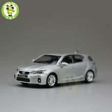 1:43 Lexus CT200h Diecast car model Silver no paper box(China)