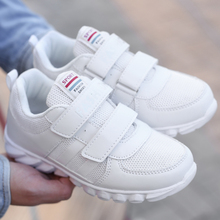 New Kids White Sneakers Summer Boys Children Sport Shoes Boots Girls Breathable Kids Shoes For Girl Sneakers Cheap Trainers Kd(China)