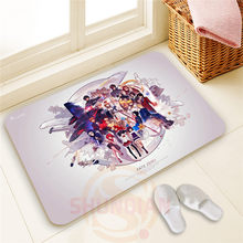 The best Custom Fate Zero#18 Doormat 100% Polyester Personality design Home decor Floor Mat Bath Mats#1103@30(China)