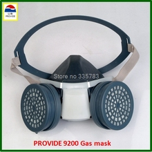 PROVIDE respirator gas mask high quality Practical type protective mask pesticide chemical respirator face mask