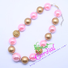Best Sale Free Shipping Fashion Kids DIY Jewelry Chunky Bubblegum Beads Girls Necklaces Manufacturer For Amazon Ebay CDNL-410513