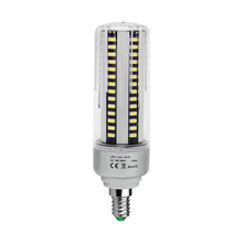 High Power SMD 5736 Real Watts No Flicker LED Corn lamp E14 5W 7W 9W 12W 15W 20W 25W Aluminum Spot light Bulb Lighting 85-265V