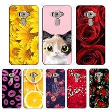 Popular Cover for Asus Zenfone 3 ZE520KL 5.2 inch Colorful Printing Case Flower Fashion for ZenFone ZE520KL case cover Shell(China)