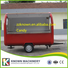 Food Cart Trailer Truck Most Popular Used In Food Cart Mobile food cart with windows(China)