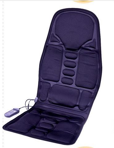 Car Home Office Full-Body Massage Cushion. Back Neck Massage Chair Massage Relaxation Car Seat. Heat Vibrate Mattress<br>
