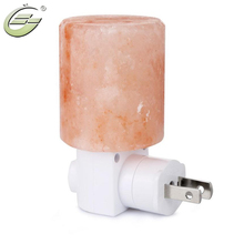 Mini Hand Carved Natural Crystal Himalayan Salt Lamp Night Light with UL-Approved Wall Euro US UK Plug