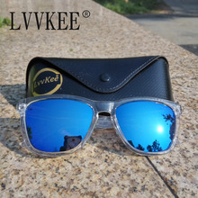 LVVKEE hot 2017 Brand design men sunglasses sunglasses women Colored lenses Brand logo with original packaging gg sunglasses(China)